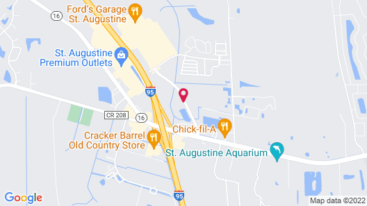 Fairfield Inn & Suites by Marriott St. Augustine I-95 Map