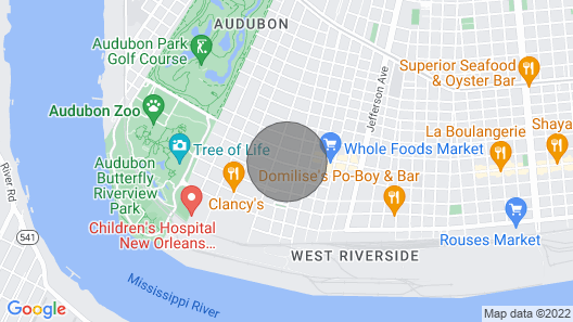 Large Shotgun Double In Perfect Uptown Location off Magazine and State St Map