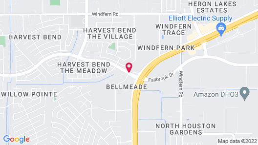 Homewood Suites by Hilton Houston NW at Beltway 8, TX Map