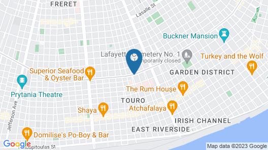 Best Western Plus St. Charles Inn Map