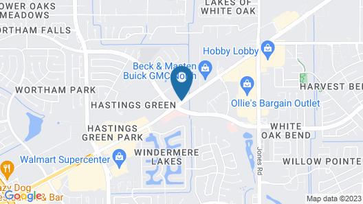 Econo Lodge Inn & Suites Houston NW-Cy-Fair Map