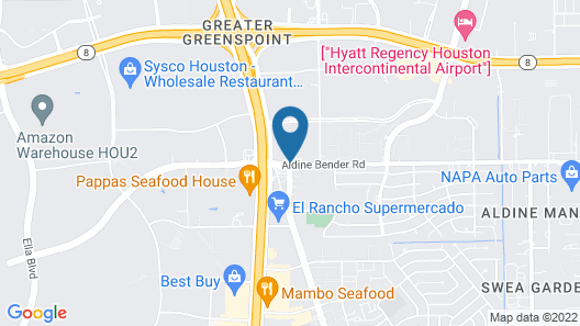 Holiday Inn Express & Suites Houston North - IAH Area, an IHG Hotel Map