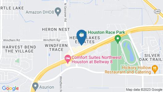 Staybridge Suites Houston Willowbrook Map