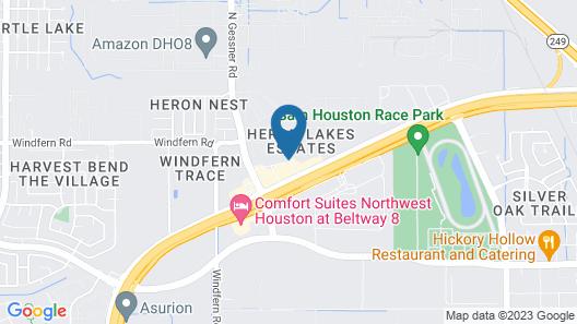 Staybridge Suites Houston Willowbrook, an IHG Hotel Map