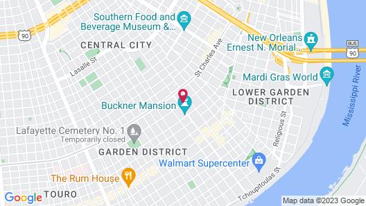 Magnolia Mansion Map