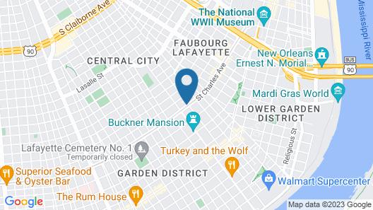 Club Wyndham Avenue Plaza Map