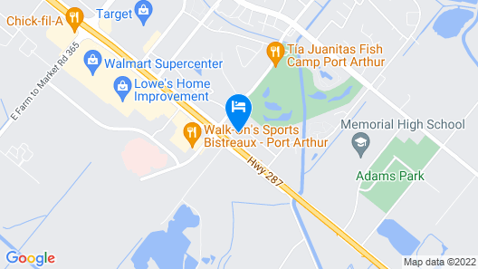 Days Inn & Suites by Wyndham Port Arthur Map