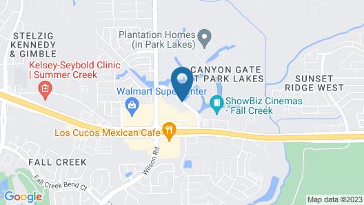 Staybridge Suites Houston - Humble Beltway 8 E Map