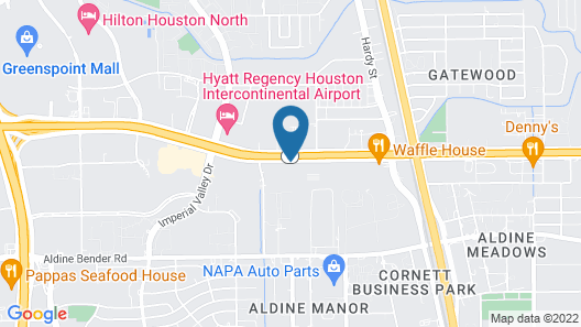 Red Roof Inn PLUS+ & Suites Houston – IAH Airport SW Map