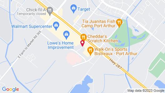 Home2 Suites by Hilton Port Arthur, TX Map