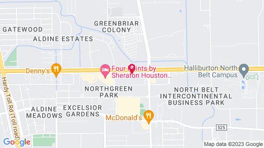 Staybridge Suites Houston IAH - Beltway 8 Map
