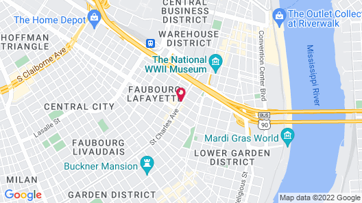 Maison Saint Charles by Hotel RL Map