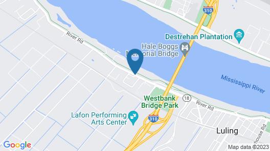 Ramada by Wyndham Luling Map