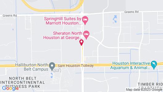 Best Western Plus JFK Inn & Suites Map