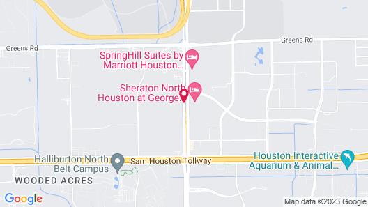 Red Roof Inn Houston - IAH Airport/JFK BLVD Map