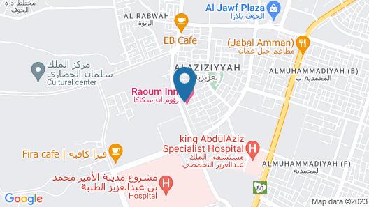 Raoum Inn Sakaka Map
