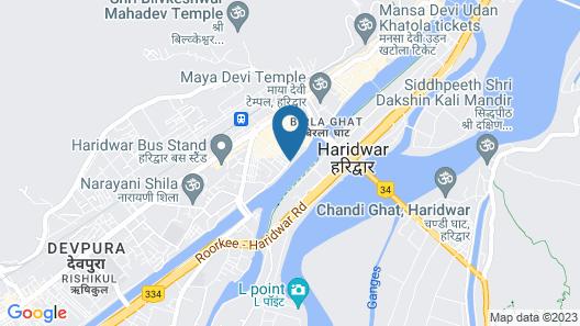 Pilibhit House, Haridwar - IHCL SeleQtions Map