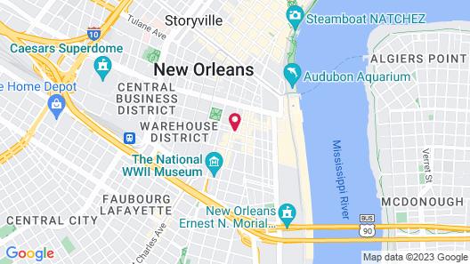 LYRIC | New Orleans Boutique Suites Map