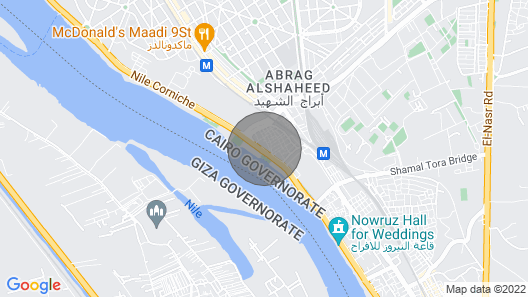 Luxurious and Panoramic Nile View Map