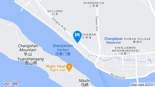 Jinjiang Inn Map