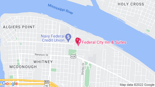 Federal City Inn & Suites Map