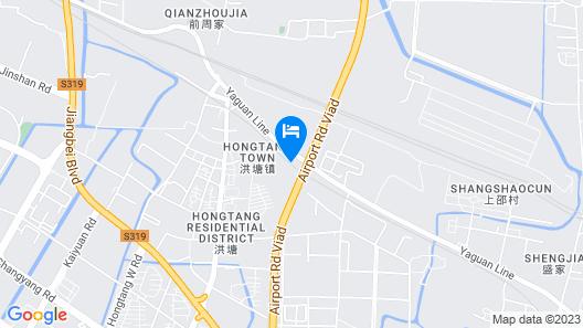 GEM Hotel Ningbo Jiangbei District Hongtang Haide Map