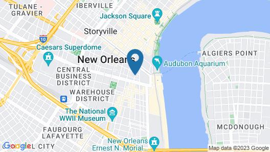 Hotel de L'Eau Vive Map