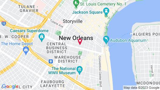 InterContinental New Orleans, an IHG Hotel Map