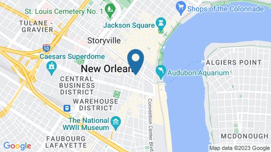 The Pelham Hotel Map