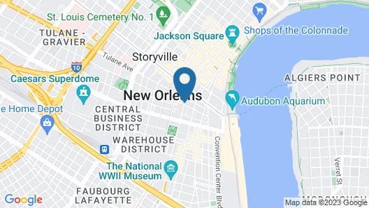 International House Hotel Map