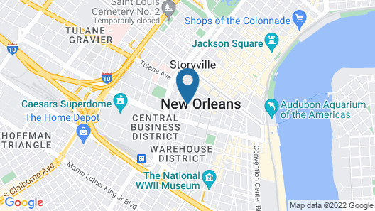 Selina Catahoula New Orleans Map