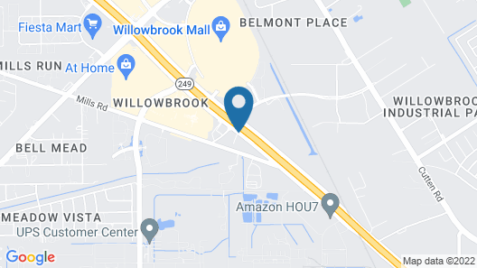 Extended Stay America Houston - Willowbrook - HWY 249 Map