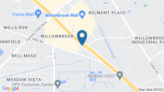 Haven Inn & Suites Willowbrook Map