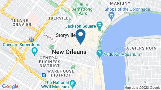 Wyndham New Orleans - French Quarter Map