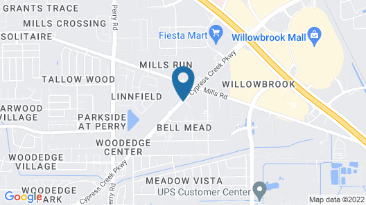 Candlewood Suites Houston NW - Willowbrook, an IHG Hotel Map