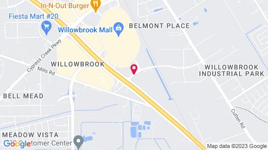 Residence Inn by Marriott Houston Willowbrook Map