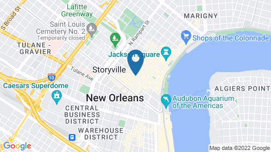 Hotel Mazarin Map