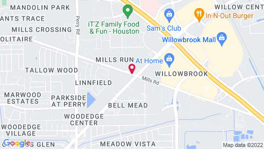 Wingate by Wyndham - Houston/Willowbrook Map