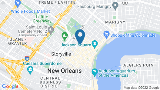 Hotel St. Marie Map