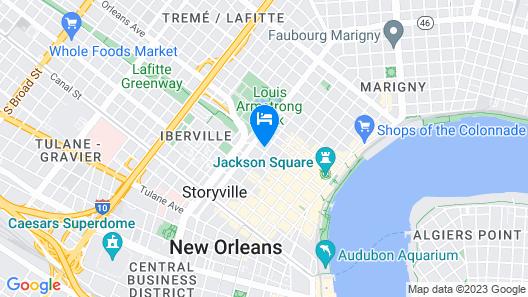 Maison Dupuy Hotel Map