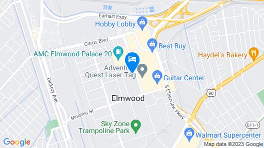 Residence Inn by Marriott New Orleans Elmwood Map