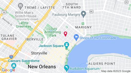 Lafitte Hotel & Bar Map