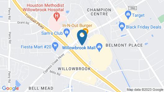 Hampton Inn Houston-Willowbrook Map