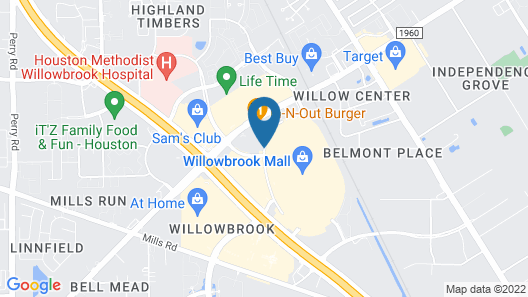 Homewood Suites by Hilton Houston - Willowbrook Mall Map