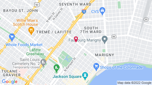 Rathbone Mansions Map