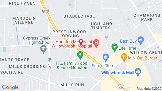 Holiday Inn & Suites Houston NW - Willowbrook, an IHG Hotel Map