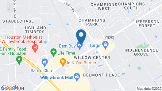 Extended Stay America Houston - Willowbrook Map