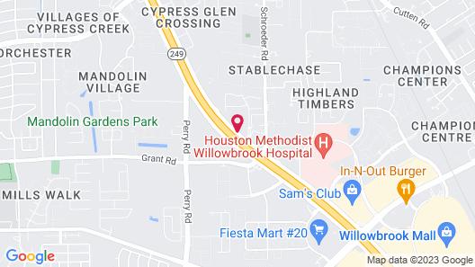 Staybridge Suites Houston NW - Willowbrook, an IHG Hotel Map