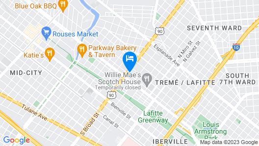 Studio - 806 Map