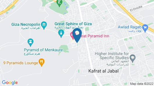 Horus Guest House Pyramids View Map